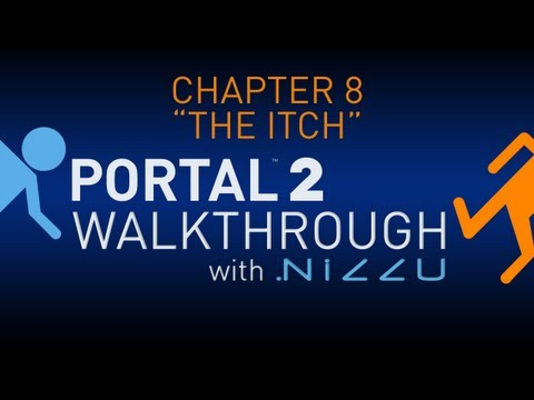 Portal 2 Chapter 8 The Itch Walkthrough No Commentary (TEST 11 LINK IN DESCRIPTION)