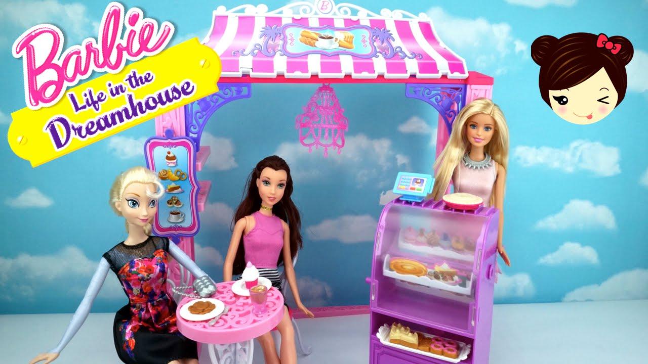 Barbie Pasteleria Juguetes De Barbie Dreamhouse Elsa Y Belle
