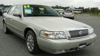 Used car Maryland 2008 Mercury Grand Marquis For Sale
