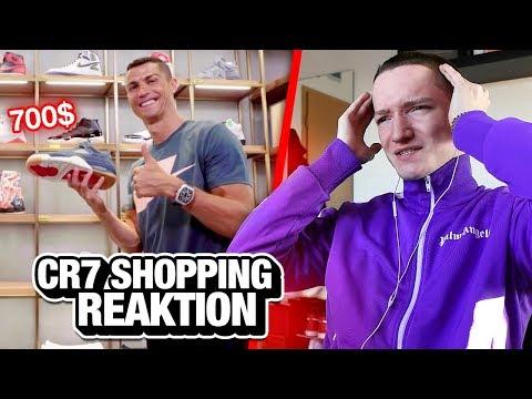 Sneaker Shoppen mit CRISTIANO RONALDO (Reaktion)