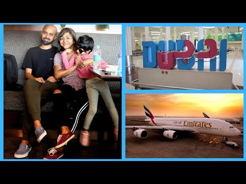 Travel Day in my Life | Indian family | Bangalore to Dubai |