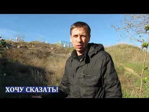 Жители улицы Песчаная в Морозовске устали жить среди выброшенных памятников и венков