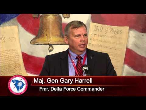 Maj. Gen. Gary Harrell USA [Ret] - #scteaparty2016