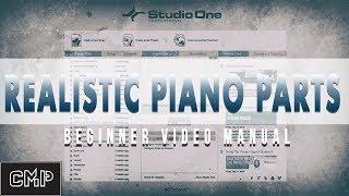 Presonus Studio One V4 Realistic Piano Melody Hack Tutorial