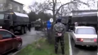 Скачать Жесть Украинские оккупанты провоцируют вежливых зеленых и местное население Крыма