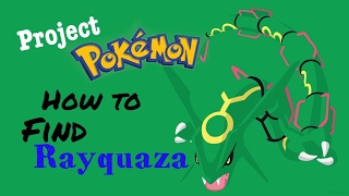 Roblox - Project Pokemon - How to Find Rayquaza