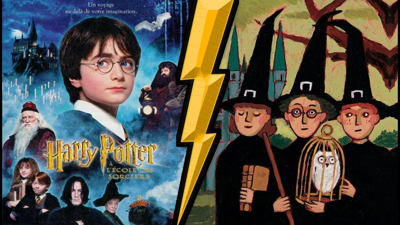 Top 10 Differences Livre Film Harry Potter 1 Youtube