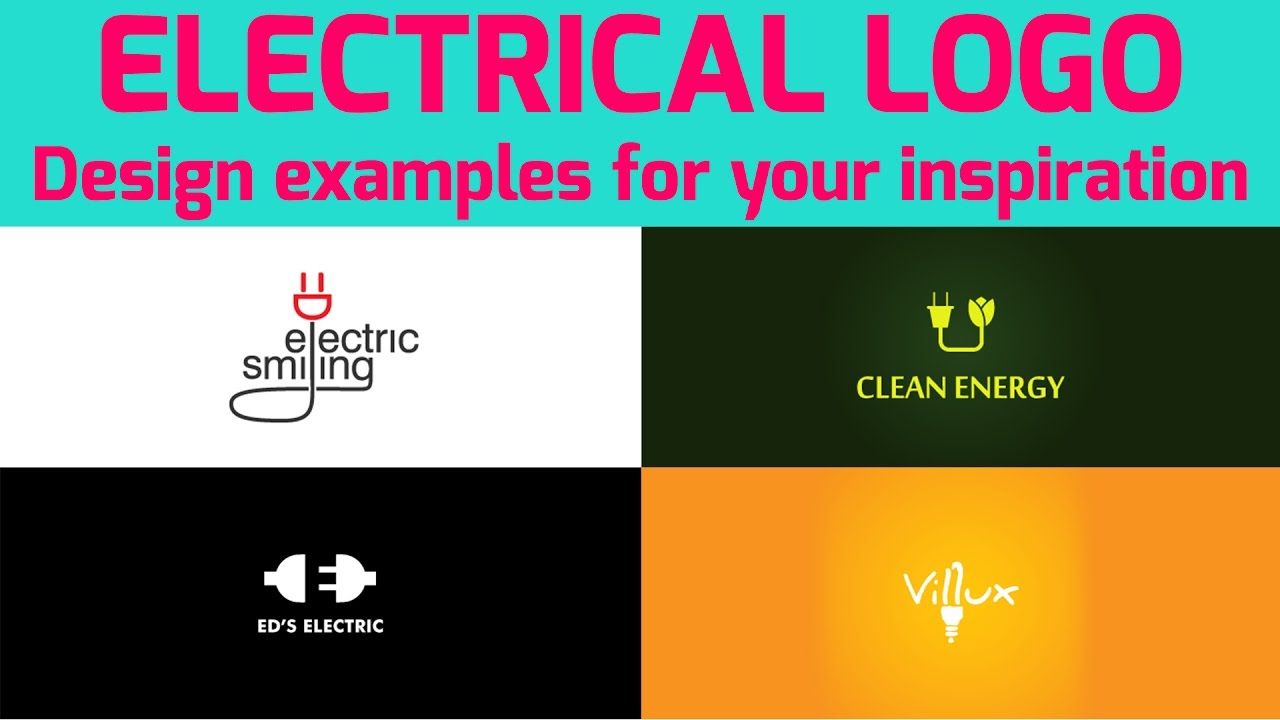 Electrical Creative 40 Logo Design Examples For Your Inspiration