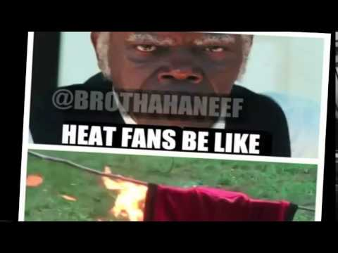 HEAT FANS BURNING LEBRON JAMES JERSEYS - YouTube