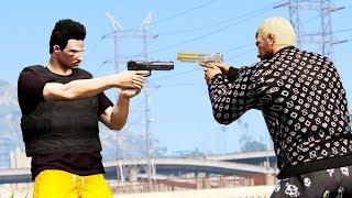 GTA V: VIDA DO CRIME   FRENTE A FRENTE COM BARBA NEGRA, FINALMENTE #EP.38 - Tj