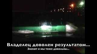 Фары Hyundai Solaris установка линз + ДХО