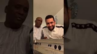 الجالية بأمريكا/نجم اللايف سيدي ولد اكماش و الفنان اللامع اعل سالم ولد اعليّ