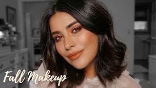 Pumpkin Spice Fall Makeup Tutorial | Any Skin Tone