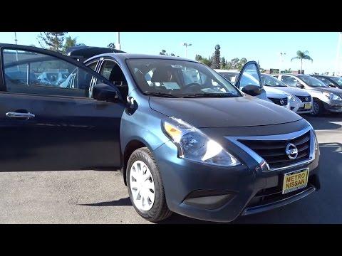 2017 Nissan Versa Sedan San Bernardino, Fontana, Riverside, Palm Springs, Inland Empire, CA 35436