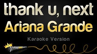 Baixar Ariana Grande - thank u, next (Karaoke Version)