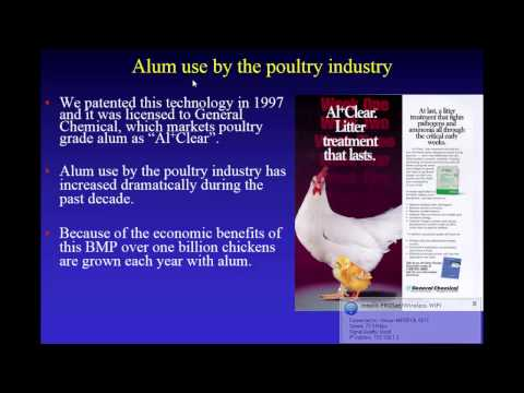 New Manure Amendment For Reducing Ammonia Volatilization And Phosphorus Runoff From Poultry Litter
