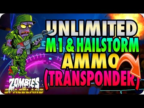 Zombies In Spaceland Glitches: Unlimited M1/Hailstorm Ammo (Transponder) - Infinite Warfare