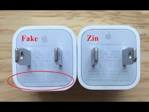Mẹo phân biệt sạc cáp fake và chính hãng cực dễ dàng – Bệnh viện điện thoại 24h