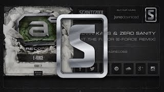Kevin Kaos & Zero Sanity - Hit The Floor (E-Force Remix) (#A2REC068 Preview)