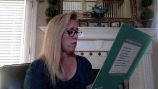 The Flight Into Egypt read by Debbie Turner Chavers
