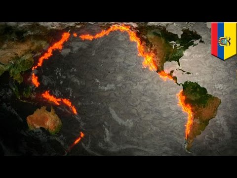 Ring of Fire: Earthquakes and volcanic eruptions around the Pacific explained - TomoNews