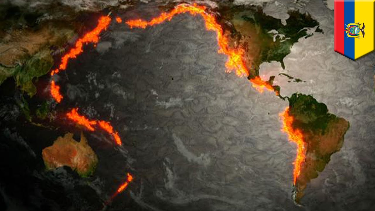 Why Is Volcanic Activity In The Ring Of Fire