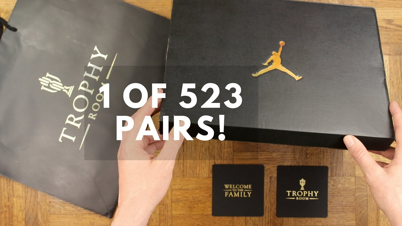 UNBOXING  1 of 523 TROPHY ROOM GRAND OPENING JORDAN XX3! - YouTube e7b77a7280