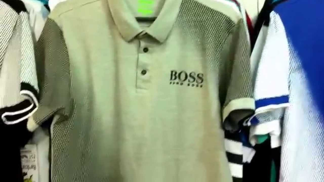 Camisetas Hugo boss - YouTube 22c60f340d9