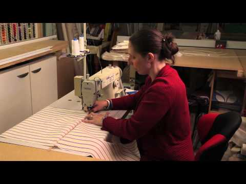 Light and Shade Hand Made Soft Furnishings - How to make a cushion