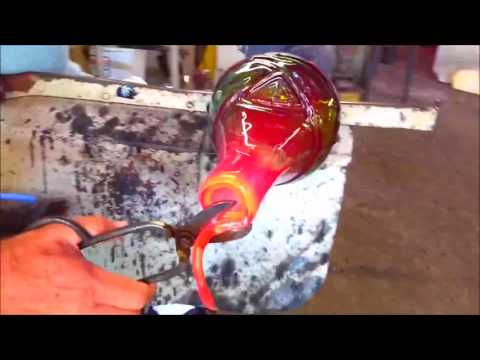 Blenko Glass 2017 West Virginia Day Piece, The Making Of Video