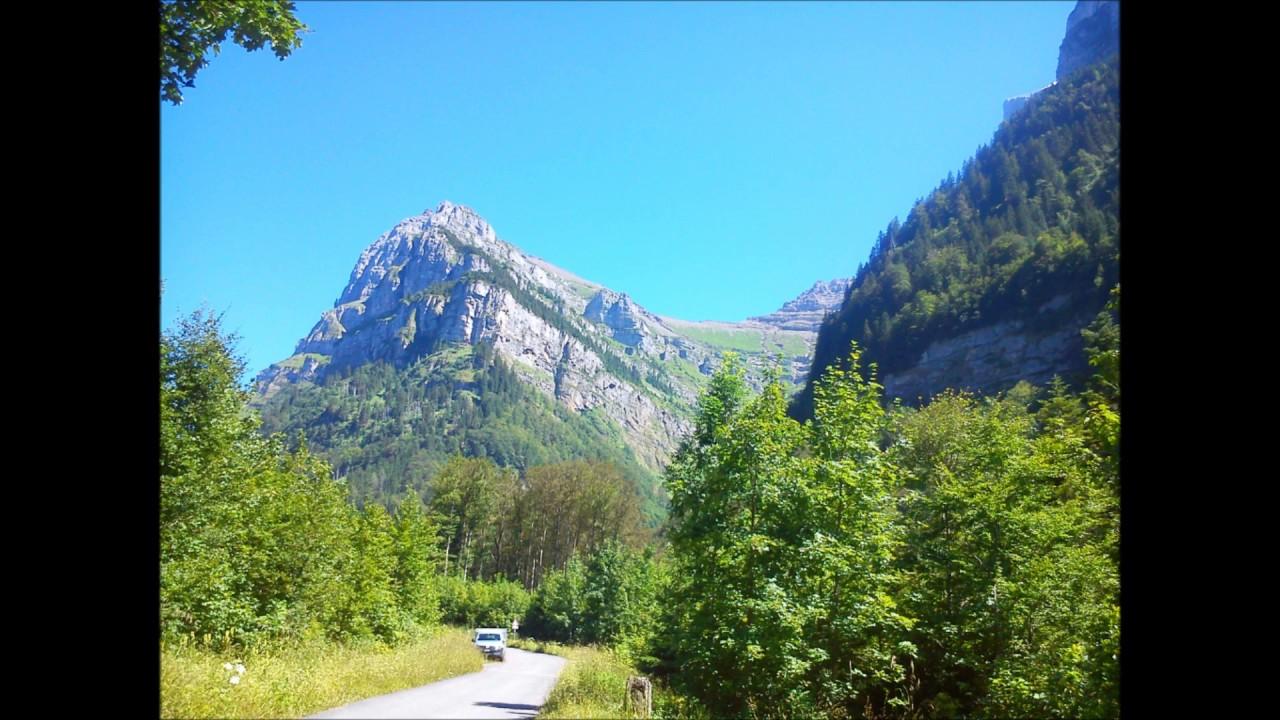 Canton Glarus Svizzera Alpi Glaronesi E Klöntalersee Youtube