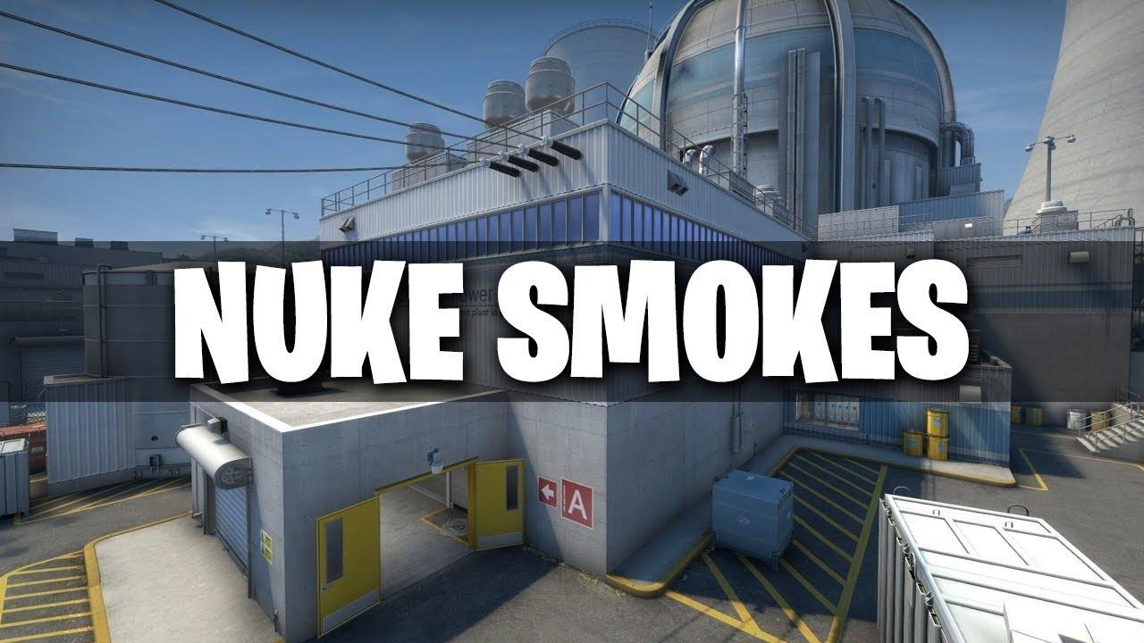 CS:GO - Essential Nuke Smokes #1