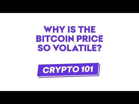 Crypto 101: Why Is Bitcoin So Volatile?
