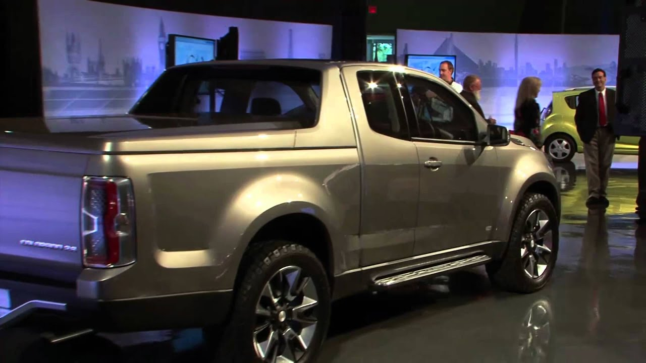 All-new Chevrolet Colorado  Pickup Truck