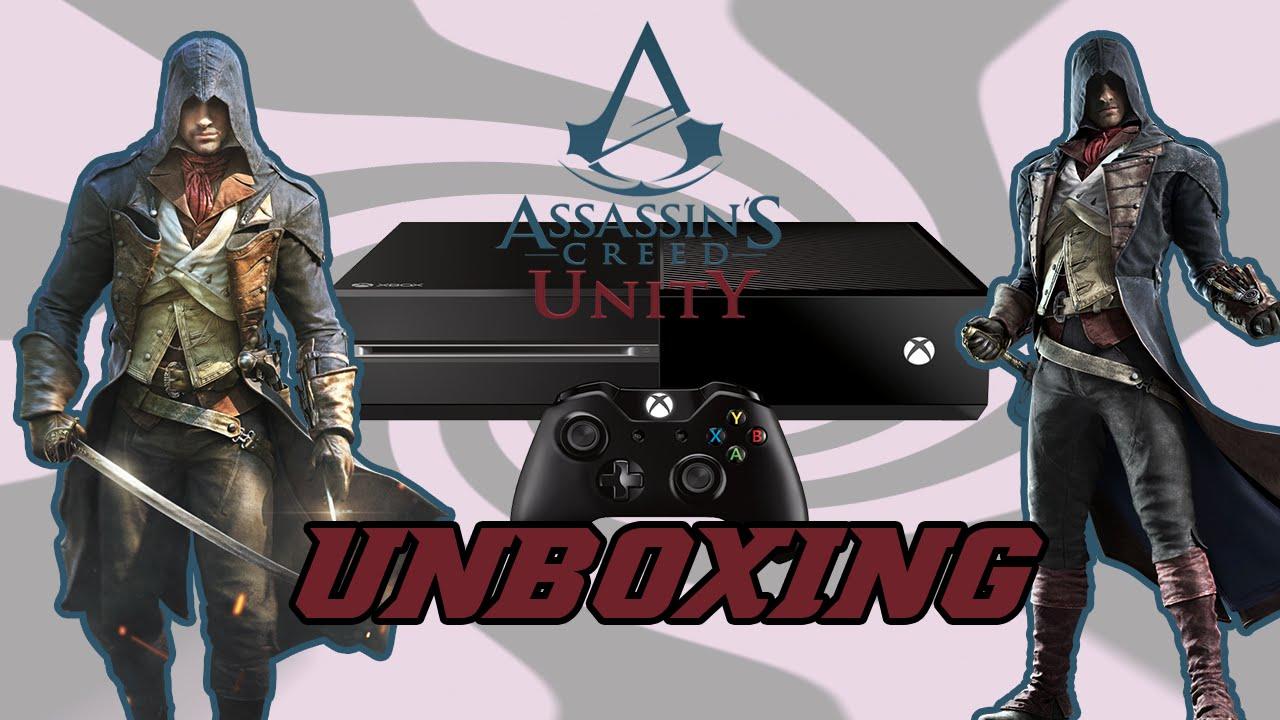 Assassin's Creed Unity Xbox One Bundle Unboxing! - YouTube