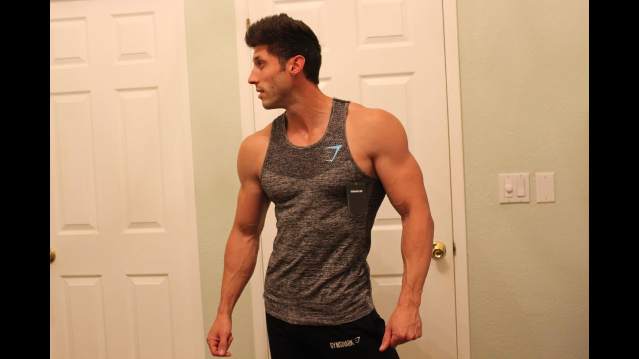 2109fd1c94803 Gymshark Seamless Tank Review and Sizing Help by Jaret Campisi