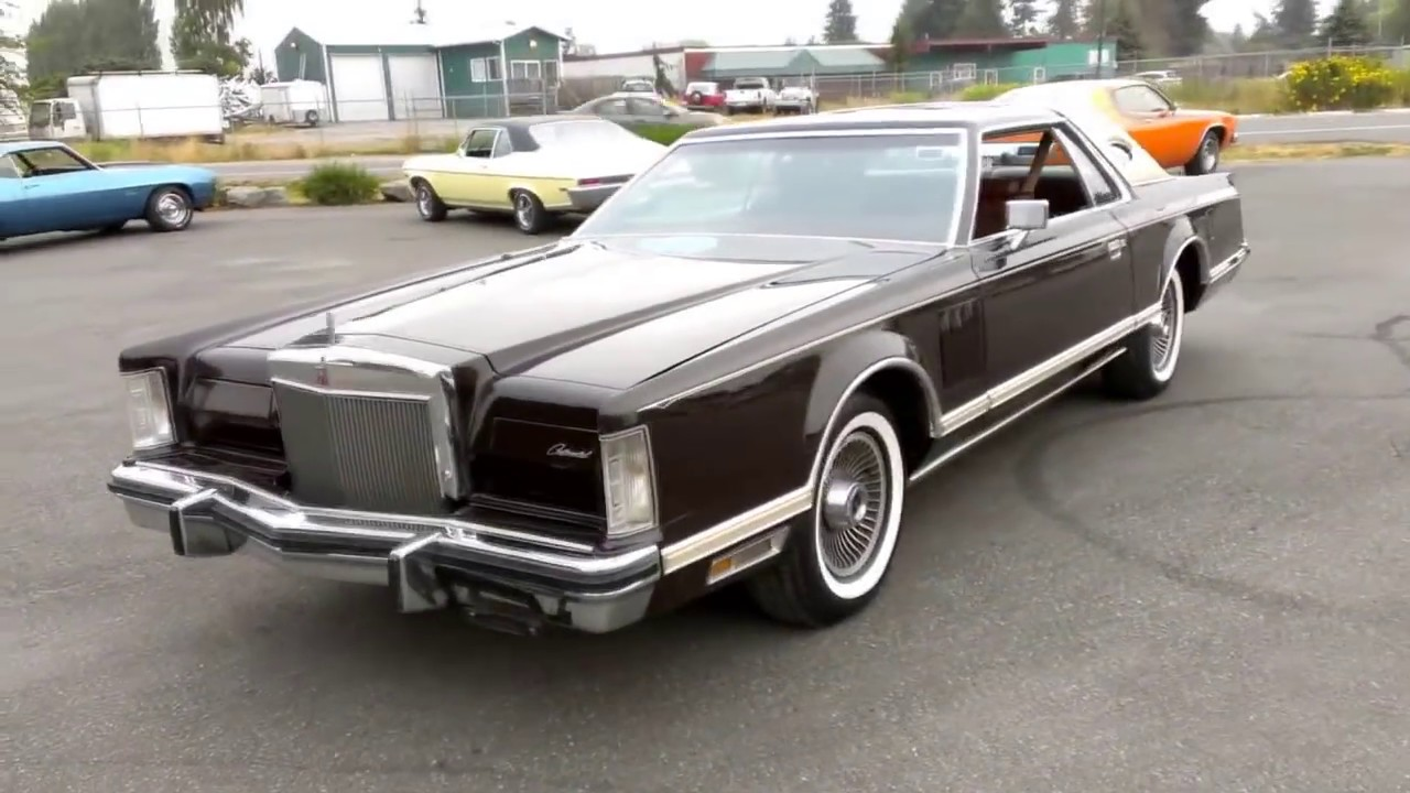 1978 lincoln continental mk5 youtube. Black Bedroom Furniture Sets. Home Design Ideas
