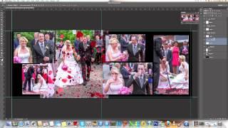 Идеи свадебного альбома в Photoshop