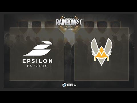 Epsilon Esports Vs. Team Vitality - Rainbow Six Pro League On XBOX ONE - EU - Play Day 5