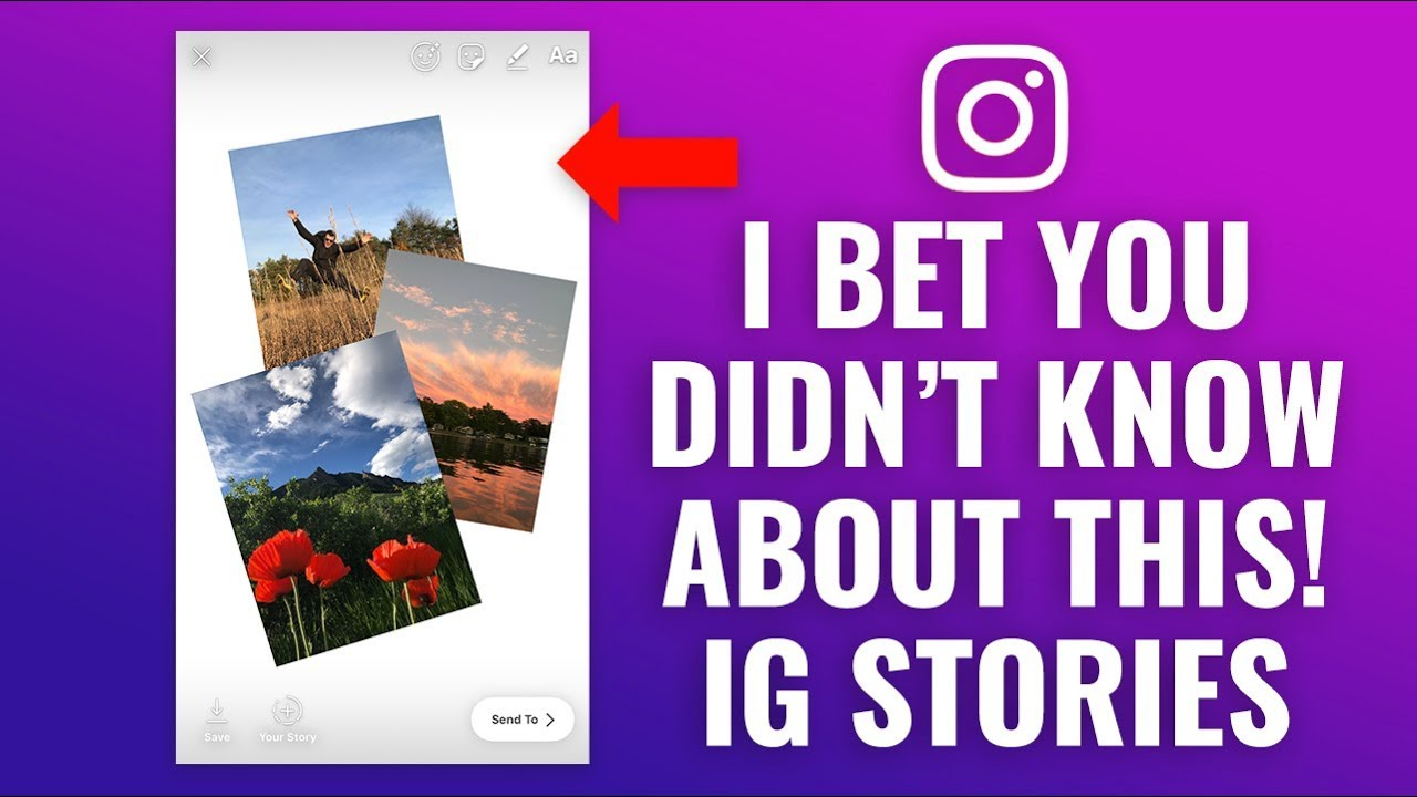 How to Create Photo Collage in Instagram Stories