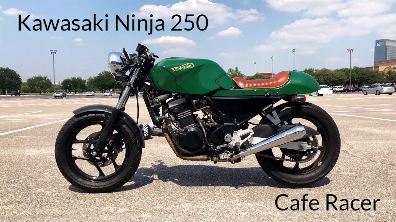 Kawasaki Ninja 250 Cafe Racer Build Youtube