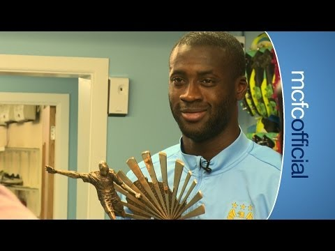 YAYA TOURE BBC African Footballer of the Year 2013