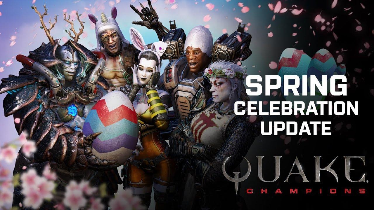 Quake Champions – Spring Update