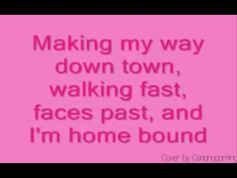 Vanessa Carlton A Thousand Miles cover with Lyrics