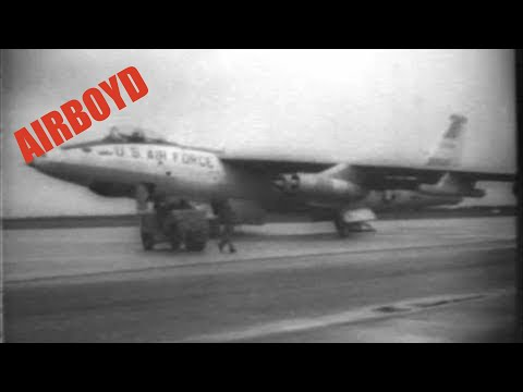 Boeing QB-47 Stratojet Radio Control Testing (1961)