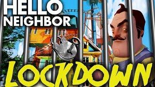 Minecraft Hello Neighbor - Neighbors house LOCKED DOWN