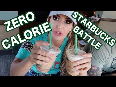 LOW CALORIE STARBUCKS BATTLE!!