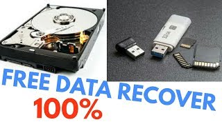 How To Recover Delete/Format/Corrupt Data,Photo, File,Video From Hard Disk,Pen Drive, Memory Cards?