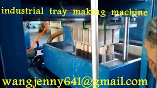 customer designed packing tray making machine 0086-15153504975