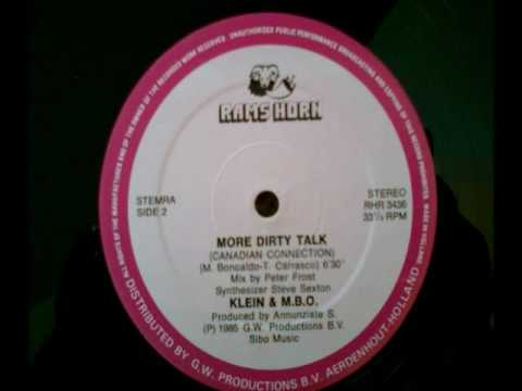 Klein MBO - More Dirty Talk